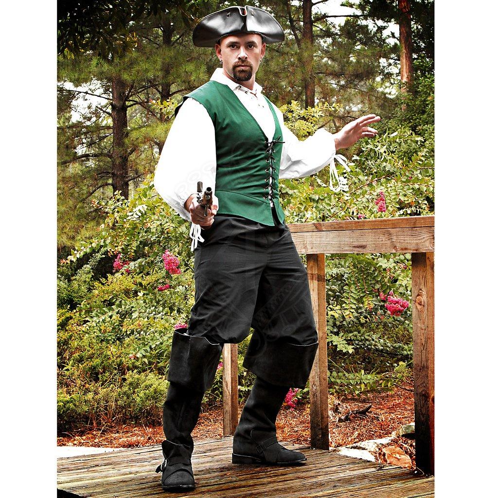 Pirátské kalhoty černé  0b62f1abd39