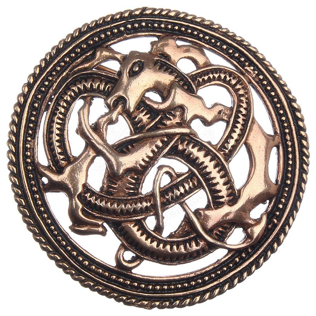 Vikinská brož Ohnivý drak 81cfa420f3