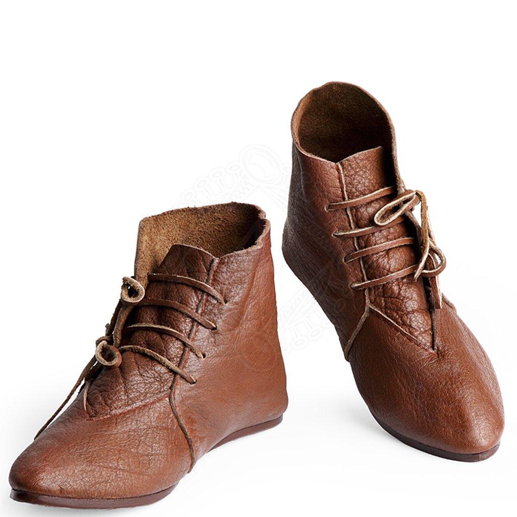 Kotníkové boty se šněrováním na tkaničky a s podrážkou pobitou cvočky 9519146063