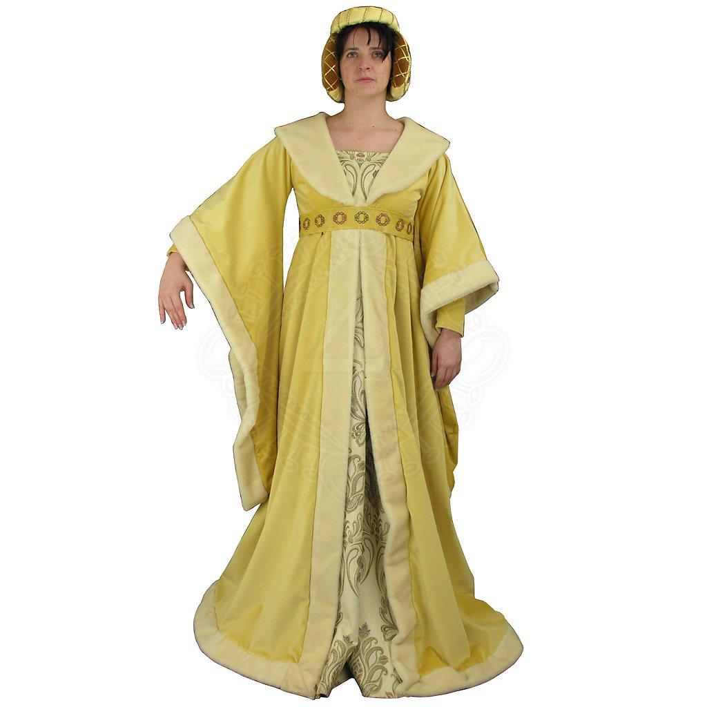 1b78e049b4f4 Gotické šaty Lisa