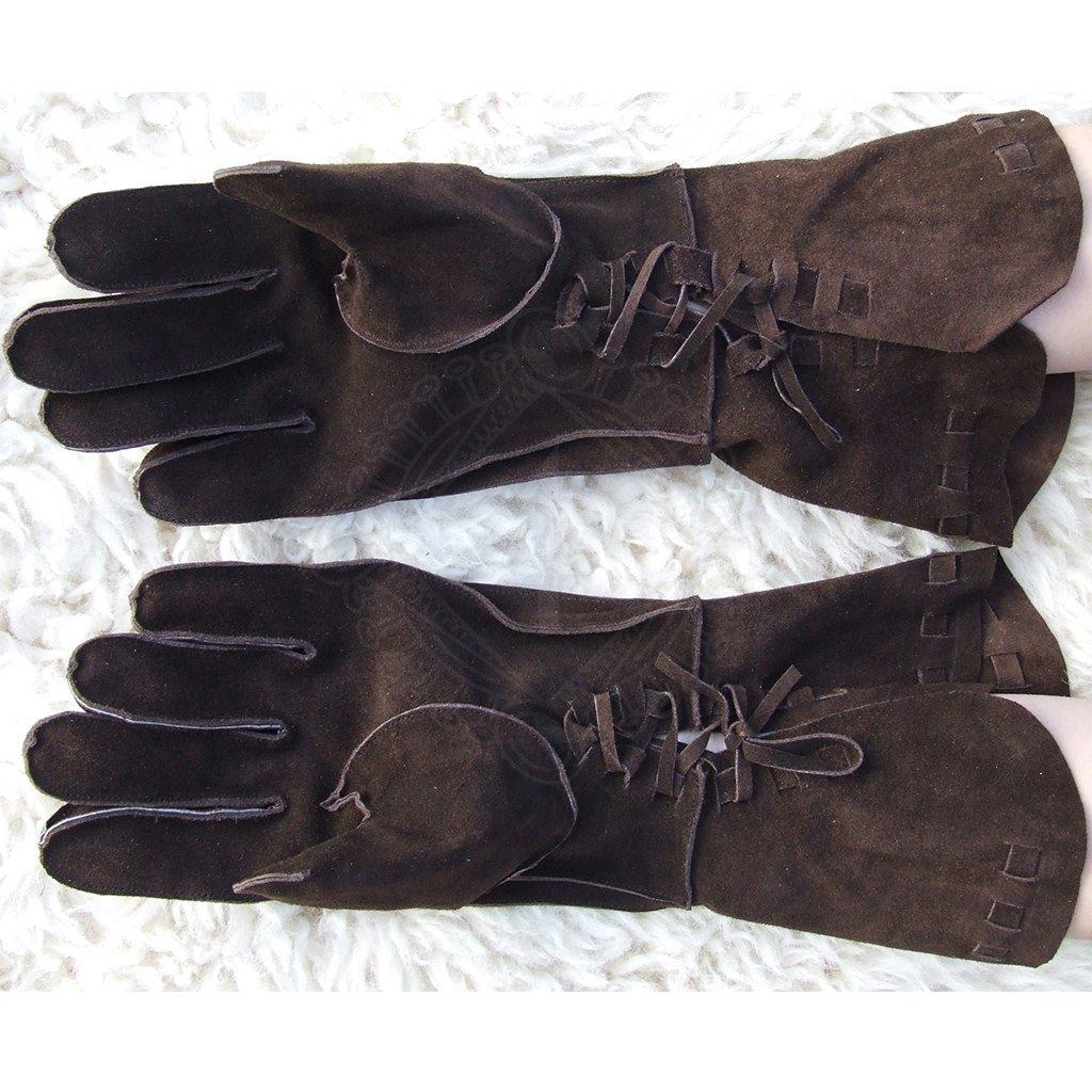 7973cc30335 Luxusní kožené rukavice renesanční