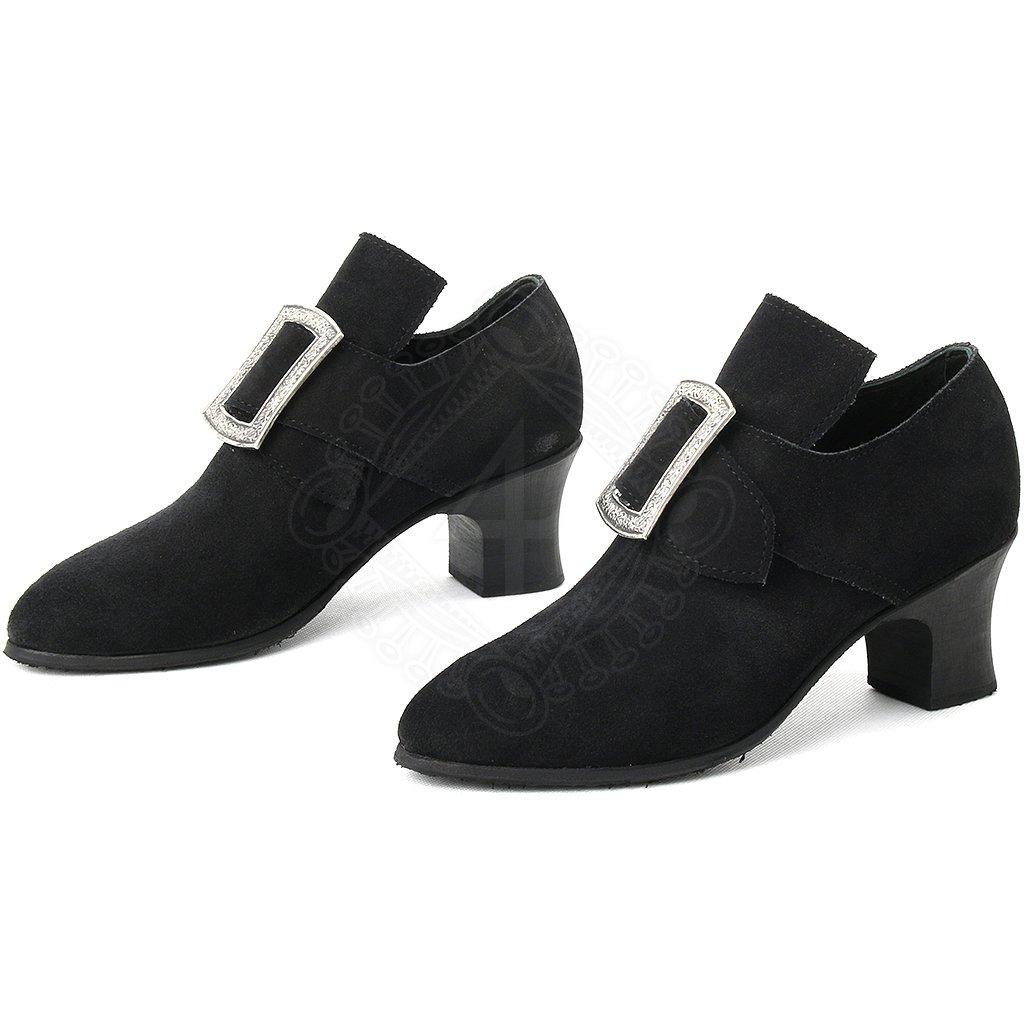d9358941a40 Dámské barokní boty na podpatku