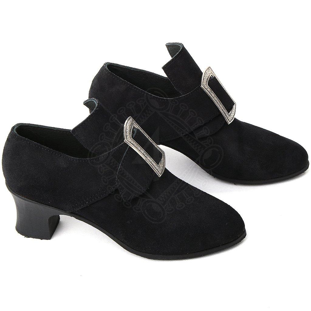 4237a9f68d3 ... Dámské barokní boty na podpatku ...