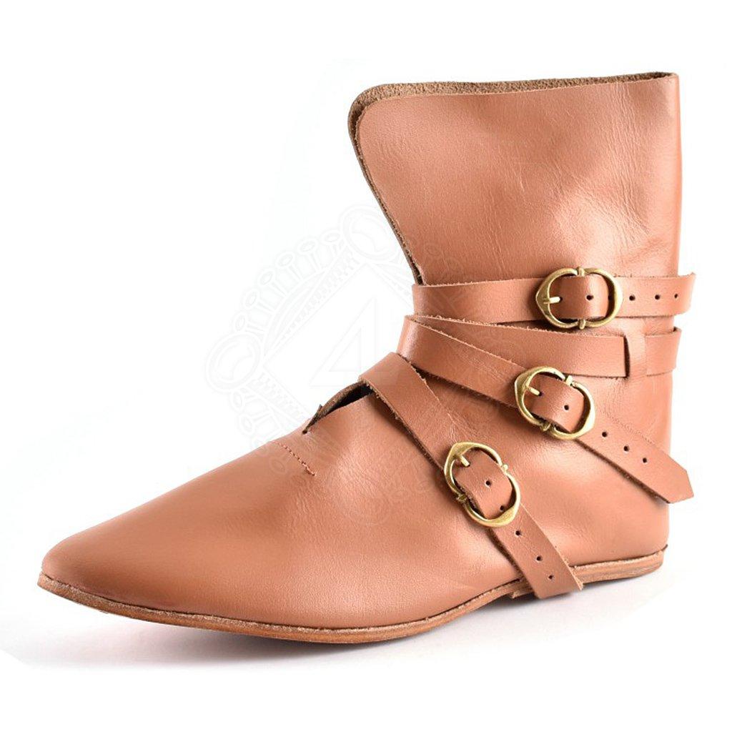 3140a0c0b8a Pozdně středověké boty se zapínáním na přezky