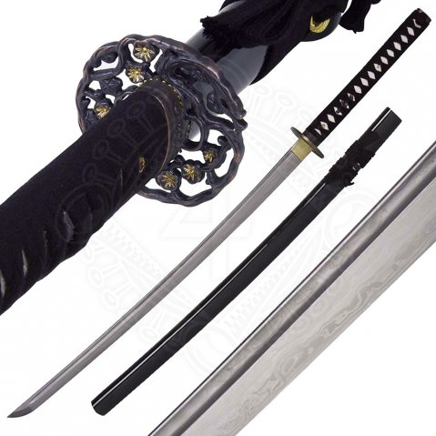 John Lee Golden Flower katana