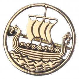 Vikinská brož Dračí lodě 163f58f0de