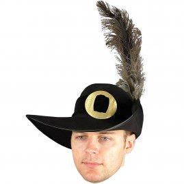 2b43f78152b Honosný mušketýrský klobouk