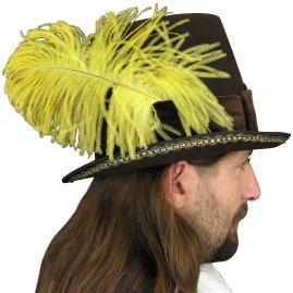 422af30ddc2 Pánský klobouk se zdobným peřím