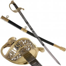 Důstojnický meč Union Staff & Field Officer Sword, Model 1850